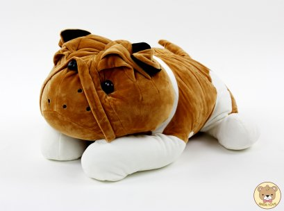 ตุ๊กตาหมาปั๊ก ตัวอ้วนมากนิ่มมาก น่ารักมาก ขนาด 50ซม.