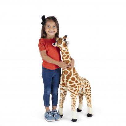 Melissa & Doug รุ่น 30431 Plush - Standing Baby Giraffe ตุ๊กตายีราฟ ใหญ่จริง สูง 3 ฟุต กอดฟินเหมือนจริง