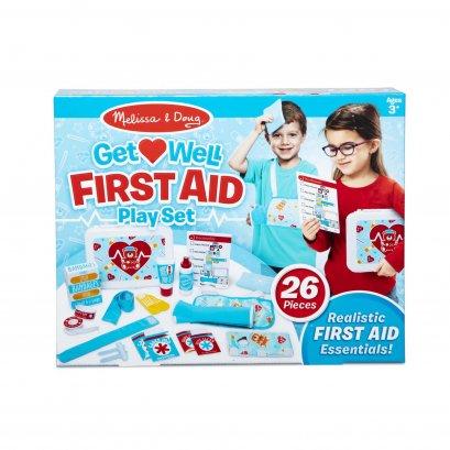Melissa & Doug รุ่น 30601 First Aid Play Set ชุดอุปกรณ์ปฐมพยาบาล เล่นแบบสวมบทบาท จินตนาการที่สร้างสรรค์