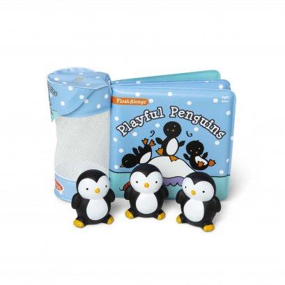 Melissa & Doug รุ่น 31202 Float-Alongs - Playful Penguins ชุดหนังสือลอยน้ำ รุ่น นกเพนกวิน
