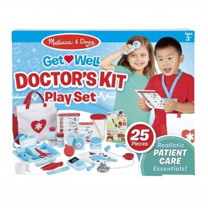 Melissa & Doug รุ่น 8569 Get Well Doctor's Kit Play Set ชุดอุปกรณ์คุณหมอ เล่นสวมบทบาท เล่นแบบสวมจินตนาการที่สร้างสรรค์
