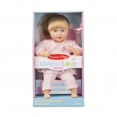 "4882 Baby Care - Natalie 12"" Doll"