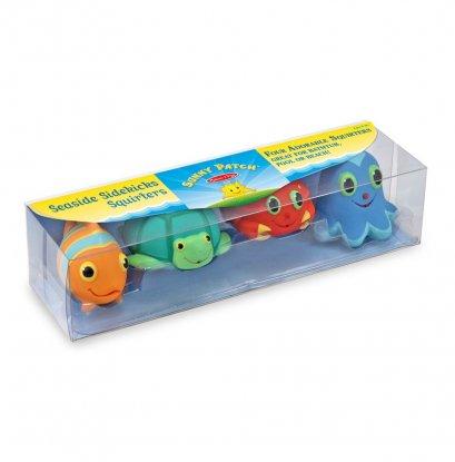 Melissa & Doug รุ่น 6435 Seaside Sidekick Water toy ชุดตุ๊กตารูปสัตว์บีบน้ำ รุ่นสัตว์ทะเล เหมาะเป็นของเล่นให้ห้องน้ำ เล่นในสระหรือเล่นในทะเล        (copy)