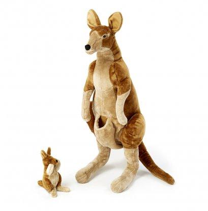 Melissa & Doug รุ่น 8834 Kangaroo and Joey Lifelike Stuffed Animal แม่และลูกจิงโจ้ ที่เหมือนจริง สูงประมาณ 3 ฟุต
