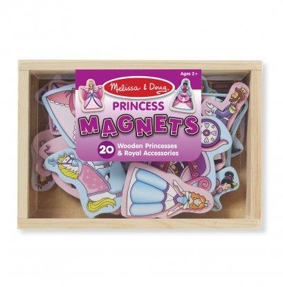 9278 ชุดแม่เหล็กเจ้าหญิง แม่เหล็กเต็มแผ่น ติดแน่น Wooden Princess Magnets