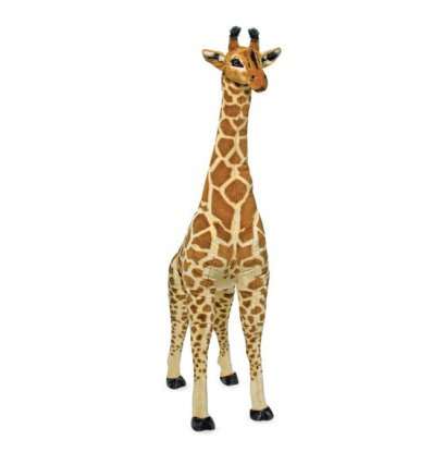 Melissa & Doug รุ่น 2106 Stuffed Animal - Giraffe Plush ตุ๊กตายีราฟ ใหญ่จริง สูง 4 ฟุต กอดฟินเหมือนจริง