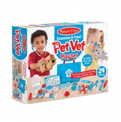 8520  ชุดสวมบทบาทเล่นเป็นคุณหมอสัตว์  Pet Vet Set