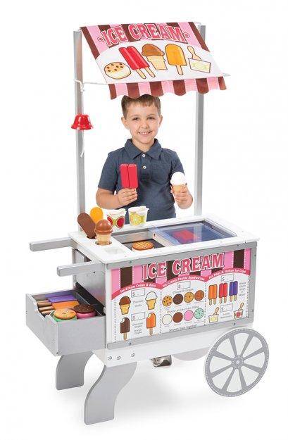 9350 รถเข็นขายไอศกรีม และรถเข็นขายฮอทด๊อก Snacks & Sweets Food Cart