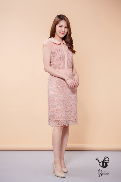 Rosy Love Lace Dress