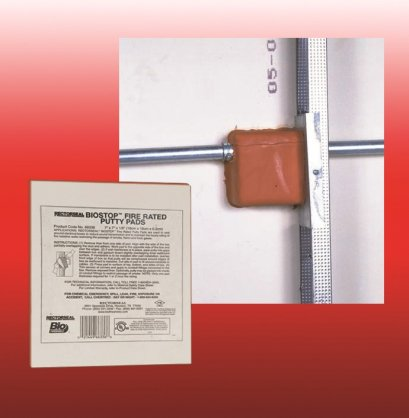 BIOSTOP® FIRE-RATED PUTTY PADS