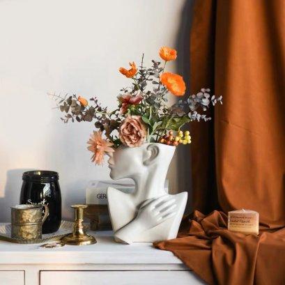 Bouquet design vase