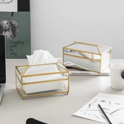 Luxury tissue box