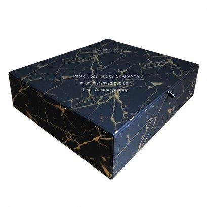 Leather Premuim Box กล่องหนังใส่ของ กล่องใส่สินสอด กล่องใส่ของชำร่วย เกรดพรีเมี่ยม หุ้มหนังและกำมะหยี่อย่างดี