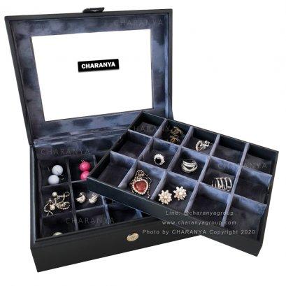 กล่องเครื่องประดับ 30 ช่อง CHRP15x2 Jewelry