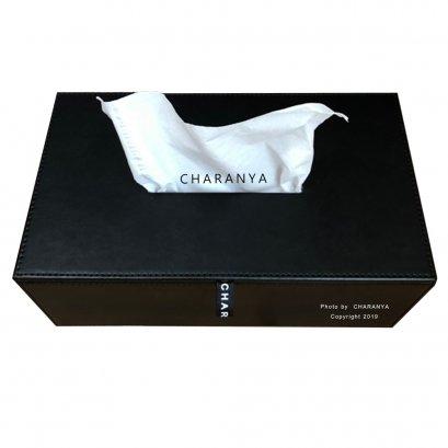 กล่องกระดาษทิชชู่หนัง แบบแผ่น  Tissue Paper Box