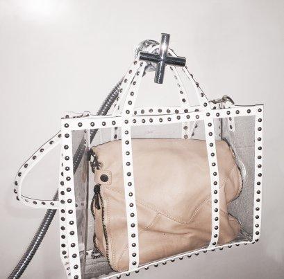 Transparency Studded Bag(copy)(copy)