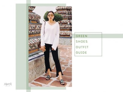 Green Shoes Matching Style Ideas
