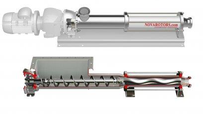 "DX - JX Sanitary Progressive Cavity Pump (SCREW PUMP) ""NOVA ROTORS"""