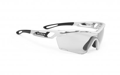 Tralyx SLIM White Gloss - ImpactX Photochromic 2 Black
