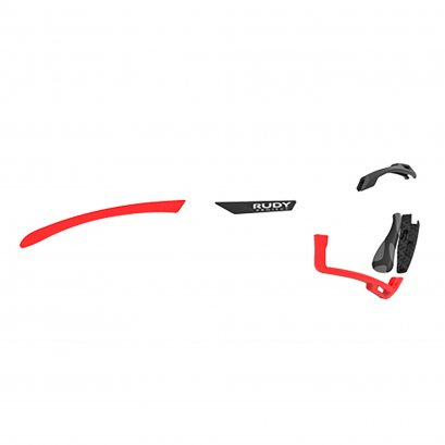 Set Cutline Red fluo / Black
