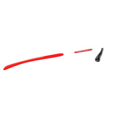 Set Rydon New Red Fluo - Red fluo/Chrome grey/black