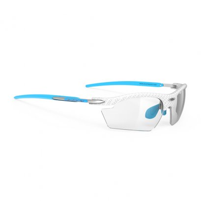 Rydon White Carbonium Azur - ImpactX Photochromic 2 Laser Black
