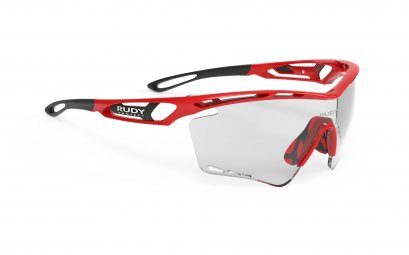 Tralyx XL Fire Red Gloss - ImpactX Photochromic 2 Black