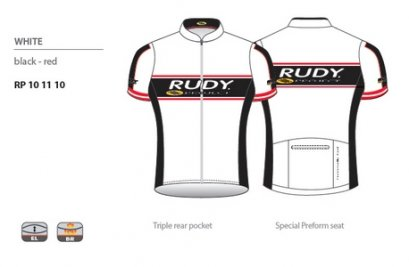 Racing Pro White Jersey