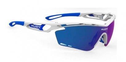Tralyx White Gloss - Multilaser Blue