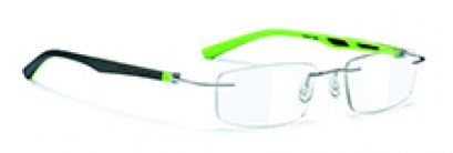 DNA Rimless Chrome-grey-lime