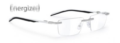 Spyllo Rimless B Chrome White / Black