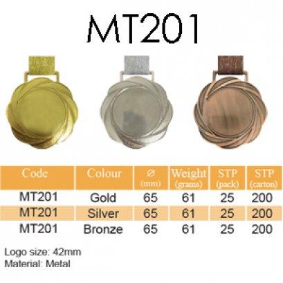 เหรียญรางวัลโลหะผสม MT201
