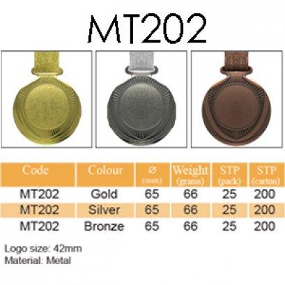 เหรียญรางวัลโลหะผสม MT202