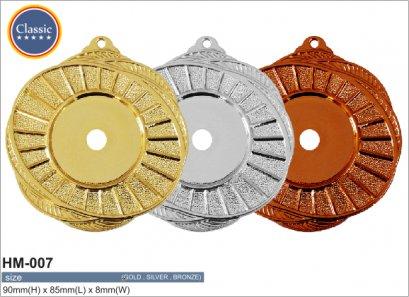 เหรียญรางวัลพลาสติก HM-007