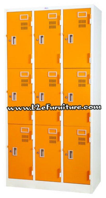 Welco WLK009 ตู้ล็อกเกอร์ ชนิด 9 ประตู กุญแจอิสระ