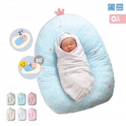 PAPA ที่นอนกันกรดไหลย้อน ที่นอนเด็ก รุ่นCSNH621-627 ที่นอนเด็ก ที่นอนกันแหวะนม เบาะนอนเด็ก ที่นอนกันแหวะนม นุ่มนอนสบาย