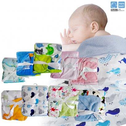 PAPA ผ้าห่มสำหรับเด็ก ขนแกะ SIZE 31*39 นิ้ว ช่วยให้หนูๆหลับง่ายขึ้น รุ่น PRX-09