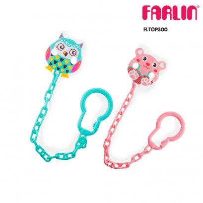 Product details of FARLIN สายคล้องติดจุกนมหลอกรูปสัตว์ Cute animal pacifier clip