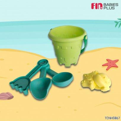 FIN ชุดของเล่นตักทรายขนาดเล็ก  Mini sand scoop toys รุ่นTCN-HG867