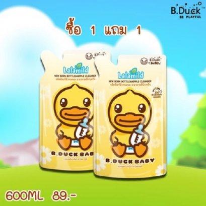 LaLamild By PAPA BaBy NewBorn Bottle&nipple Cleanser ผลิตภัณฑ์ล้างขวดนม สูตรออแกนิคธรรมชาติ