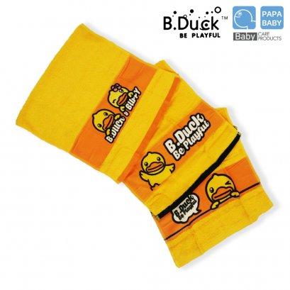 B.DUCK ผ้าเช็ดผมลายเป็ดขนาด 15 x 30 นิ้ว B.Duck towel  รุ่น BDT 1-3 มีให้เลือก 3 ลาย