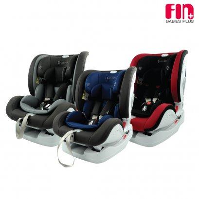 Fin Babiesplus คาร์ซีทสำหรับเด็กแรกเกิด - 12 ขวบ รองรับน้ำหนักได้ถึง 36 กก. มีระบบ ISOFIX ปรับได้ 4 ระดับ ผ่านมาตราฐานความปลอดภัยจากยุโรป ECE R44/04 รุ่น CAR-JM06