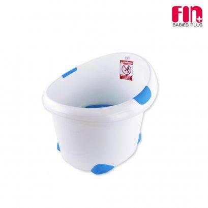 FIN BABIESPLUS อ่างอาบน้ำเด็กแบบนั่งได้ ทรงตั้ง 44x54x41 ซม. รุ่น USE-R304