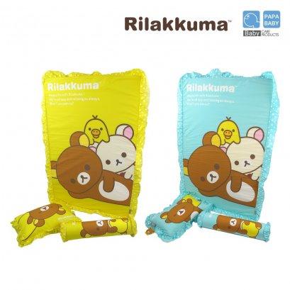 ชุดที่นอนเด็ก RILAKKUMA เบาะฟองน้ำ ริลัคคุมะ ไซส์ใหญ่ รุ่น RLK-H05A,RLK-H05B