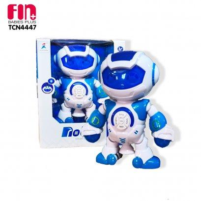 FIN หุ่นยนต์ของเล่นสุดล้ำSmart robot toy เต้น ร้องเพลงและพูด เล่านิทานได้ มีแสงไฟ รุ่นTCN4447