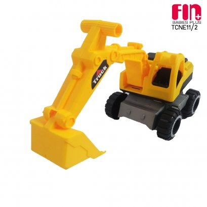 FIN รถตักดินของเล่น toy backhoe รุ่นTCNE11/2 สำหรับเด็ก 1 ปีขึ้นไป