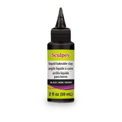 Sculpey Liquid Bakeable Clay - Black