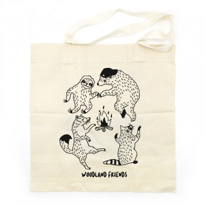 SAVE EARTH TOTE BAG AC0802 WOODLAND FRIENDS