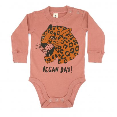 BABY 0-18M [B] LP0195 VEGAN DAY ONESIE