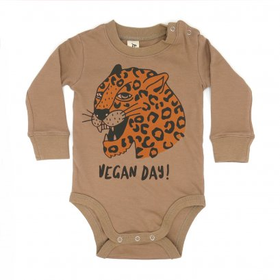 BABY 0-18M [B] LP0192 VEGAN DAY ONESIE